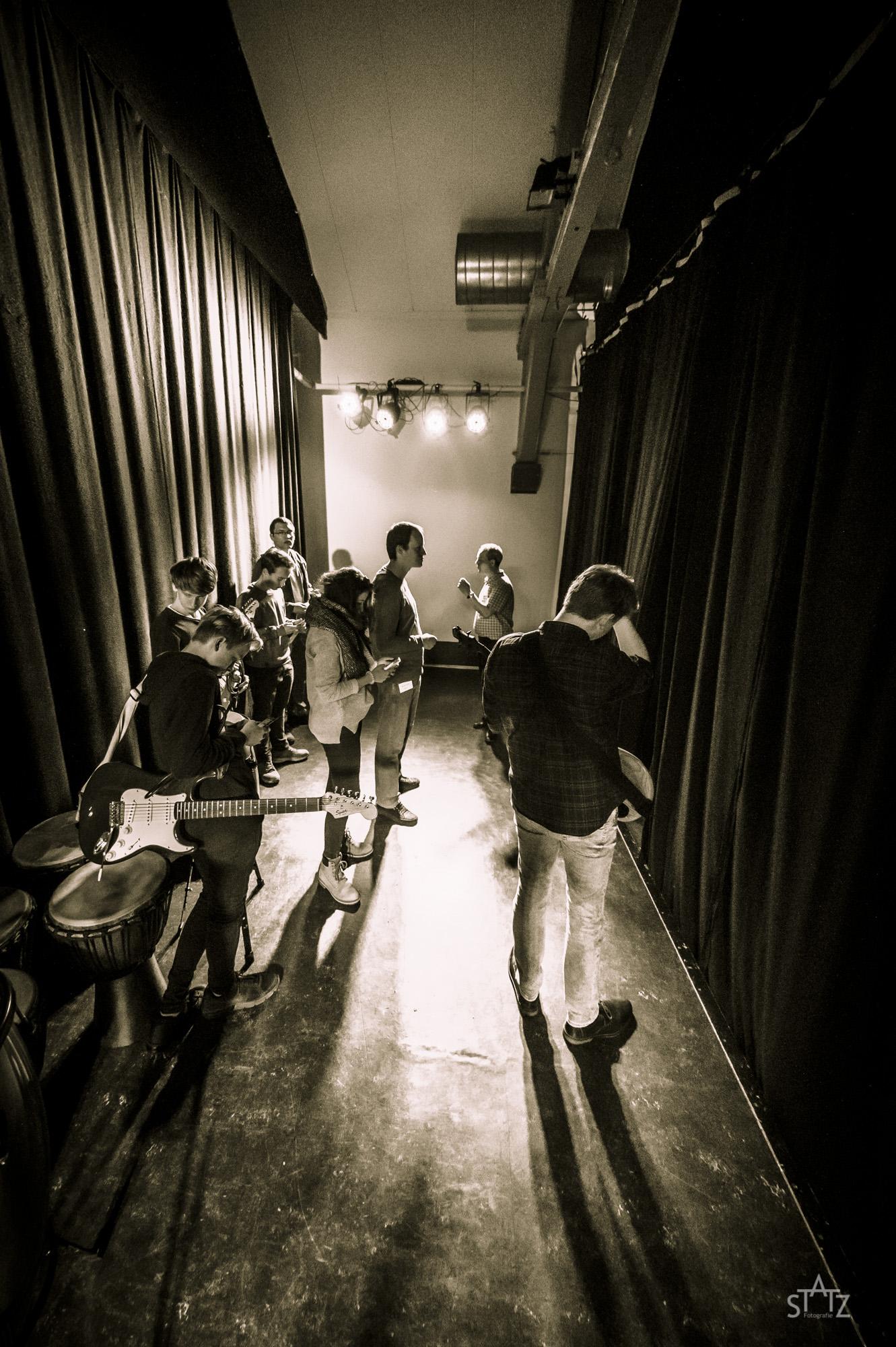 Peperoni-Music-School | Vor dem Auftritt